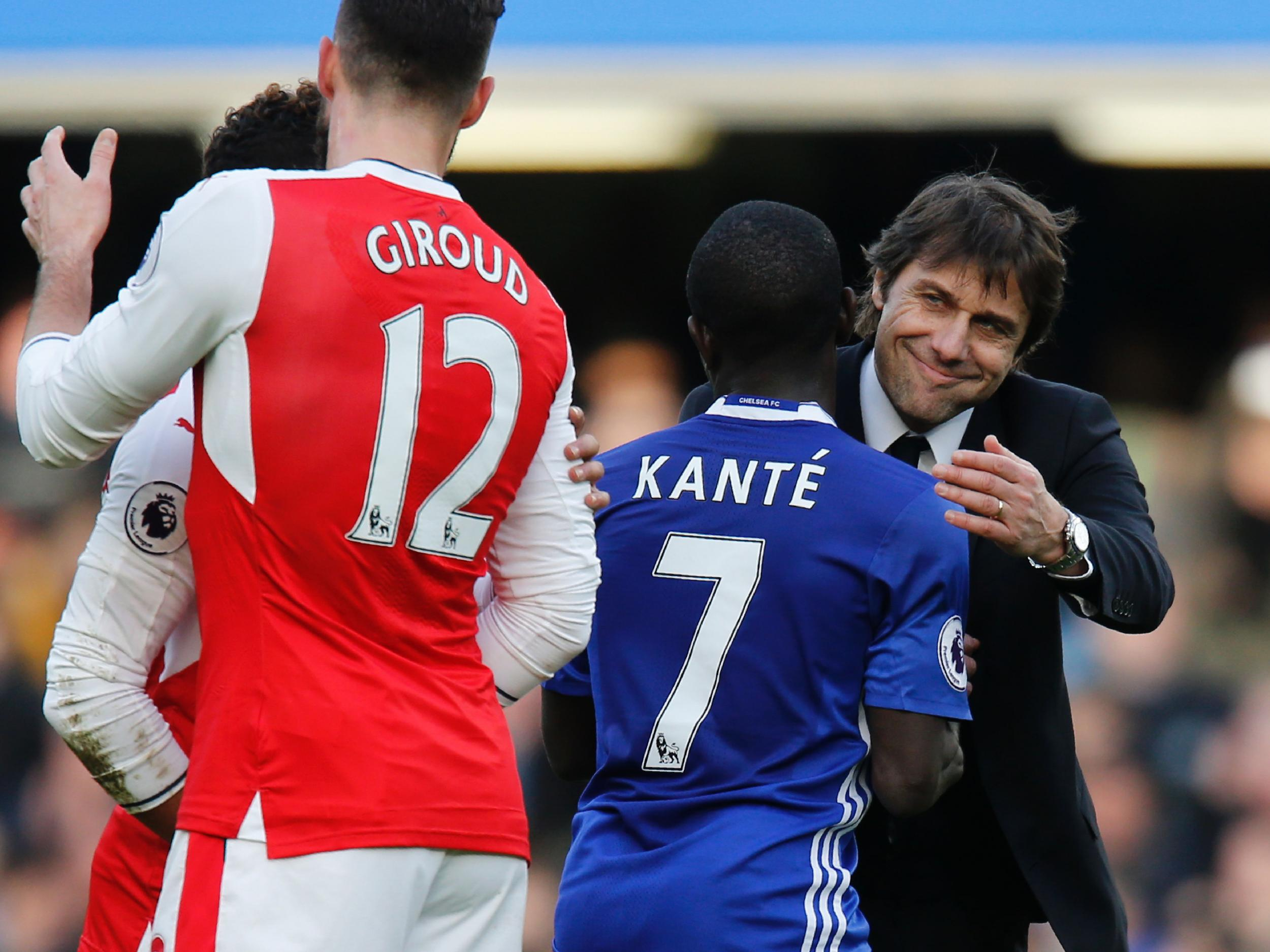 quality design 76538 a1dac Antonio Conte sees himself in N'Golo Kante, Chelsea's ...