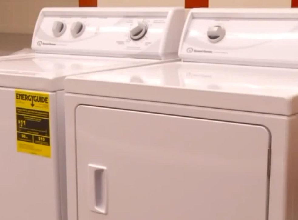Washing machines and showers have been installed in the laundry room for homeless students