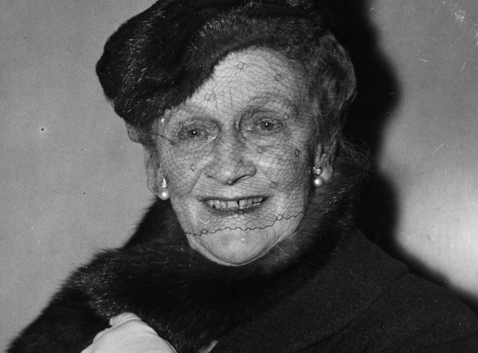 American born British politician Nancy Astor, the first woman to sit in the House of Commons