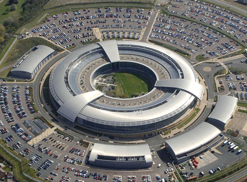 The GCHQ headquarters in Cheltenham, nicknamed 'The Doughnut'