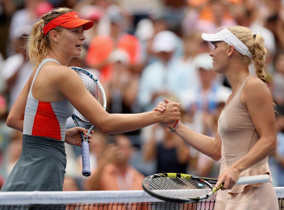 Sharapova leads the pair's head-to-head record 6-4