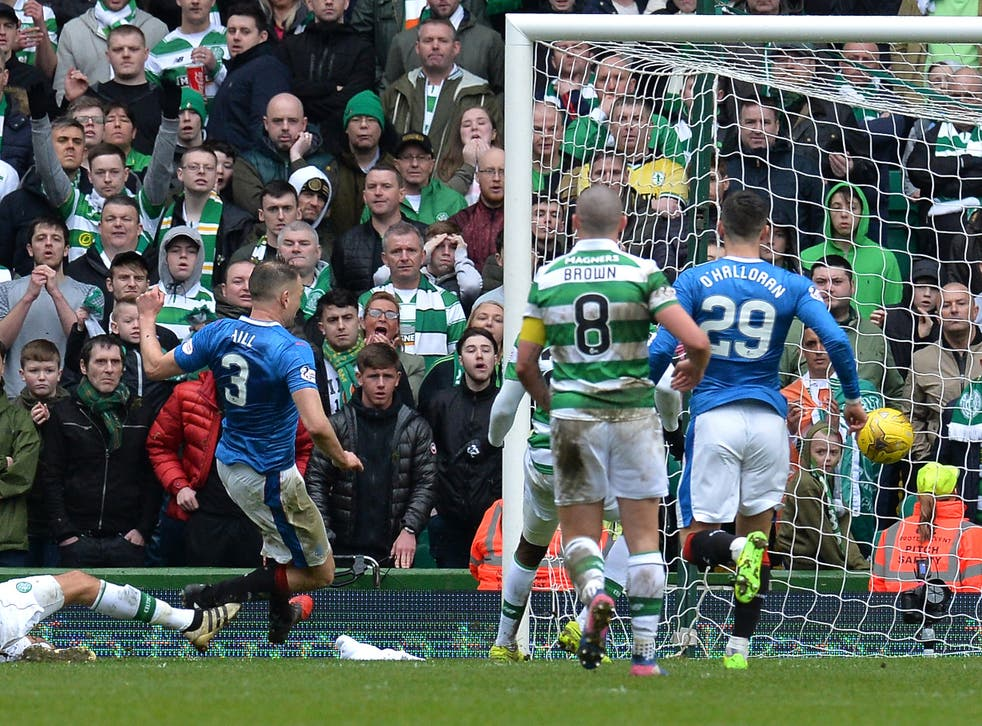 Clint Hill stole in at the back post to equalise for Rangers