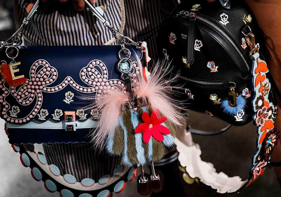 b0dadc535 Bag charms: The must-have accessory trend for spring 2017 | The ...
