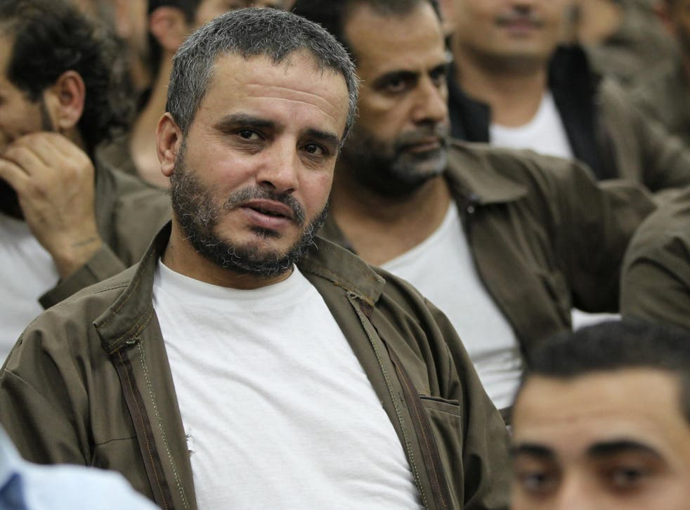 Ahmed Daqamseh, pictured in 2013, gunned down seven schoolgirls in 1997