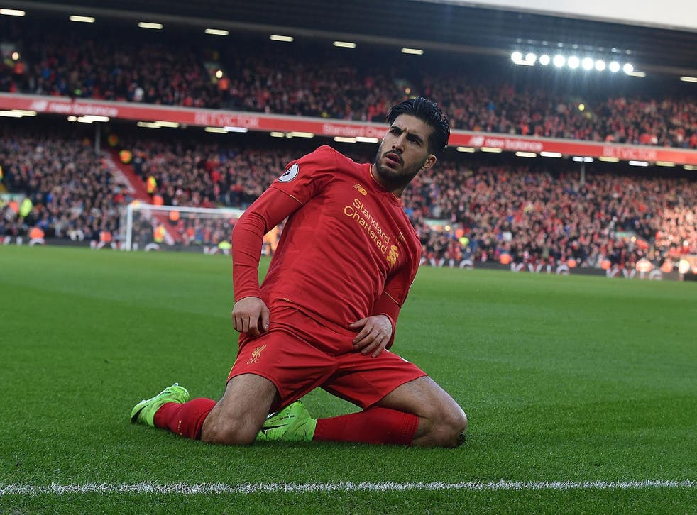 Emre Can secured a 2-1 victory for Liverpool over Burnley with a low long-range effort