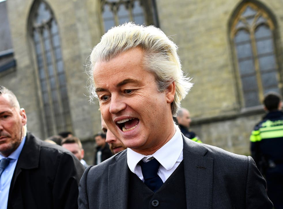 Polls show support for Mr Wilders' PVV party remains high among some ethnic groups in the Netherlands