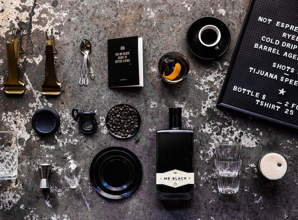 Characterful: Mr Black's taste lives up to its stylish branding