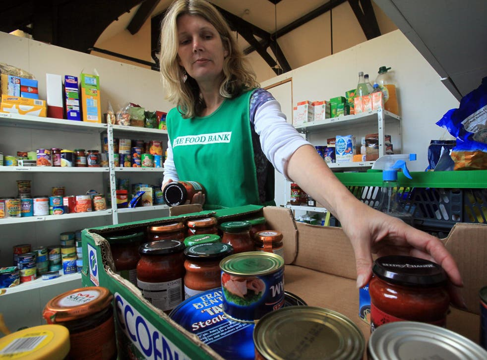 One food bank in Southwark reported a by 94 per cent increase in the number of referrals