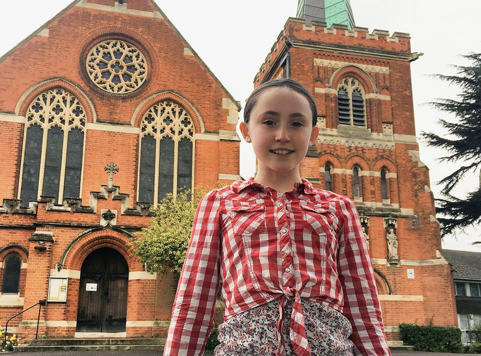 Una embraced the Church of England after attending a religious primary school