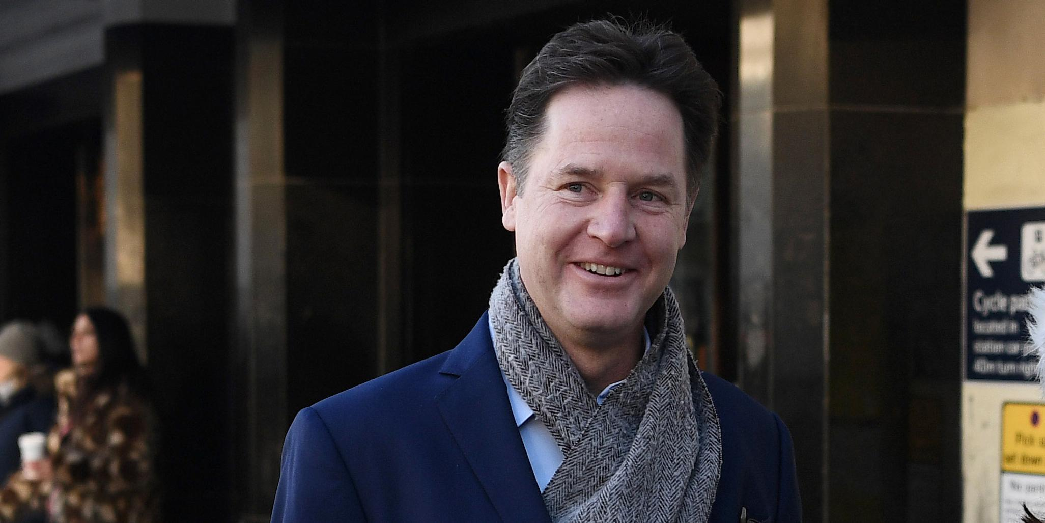 Brexit: Nick Clegg is first senior UK politician to back calls for Britons to retain EU citizenship