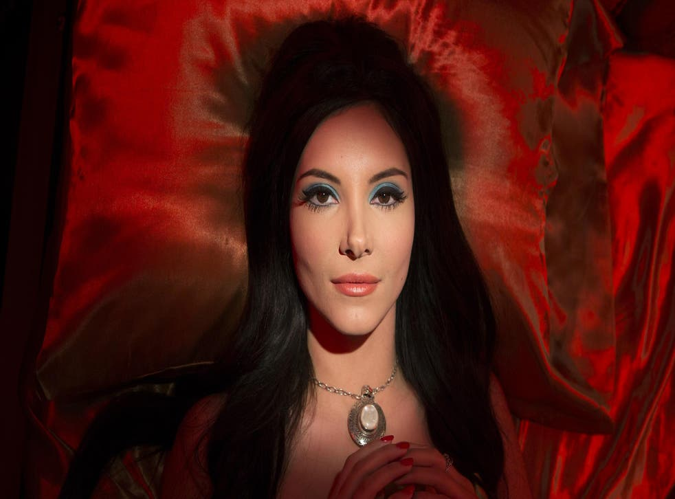 Samantha Robinson plays a young witch determined to find love in Anna Biller's 'The Love Witch'