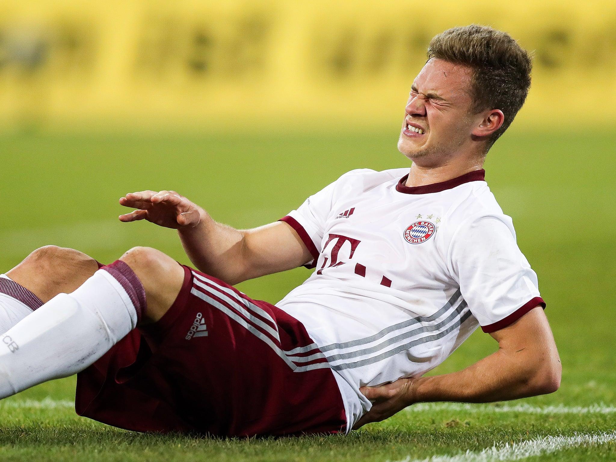 Joshua Kimmich frustrated about lack of Bayern Munich playing time