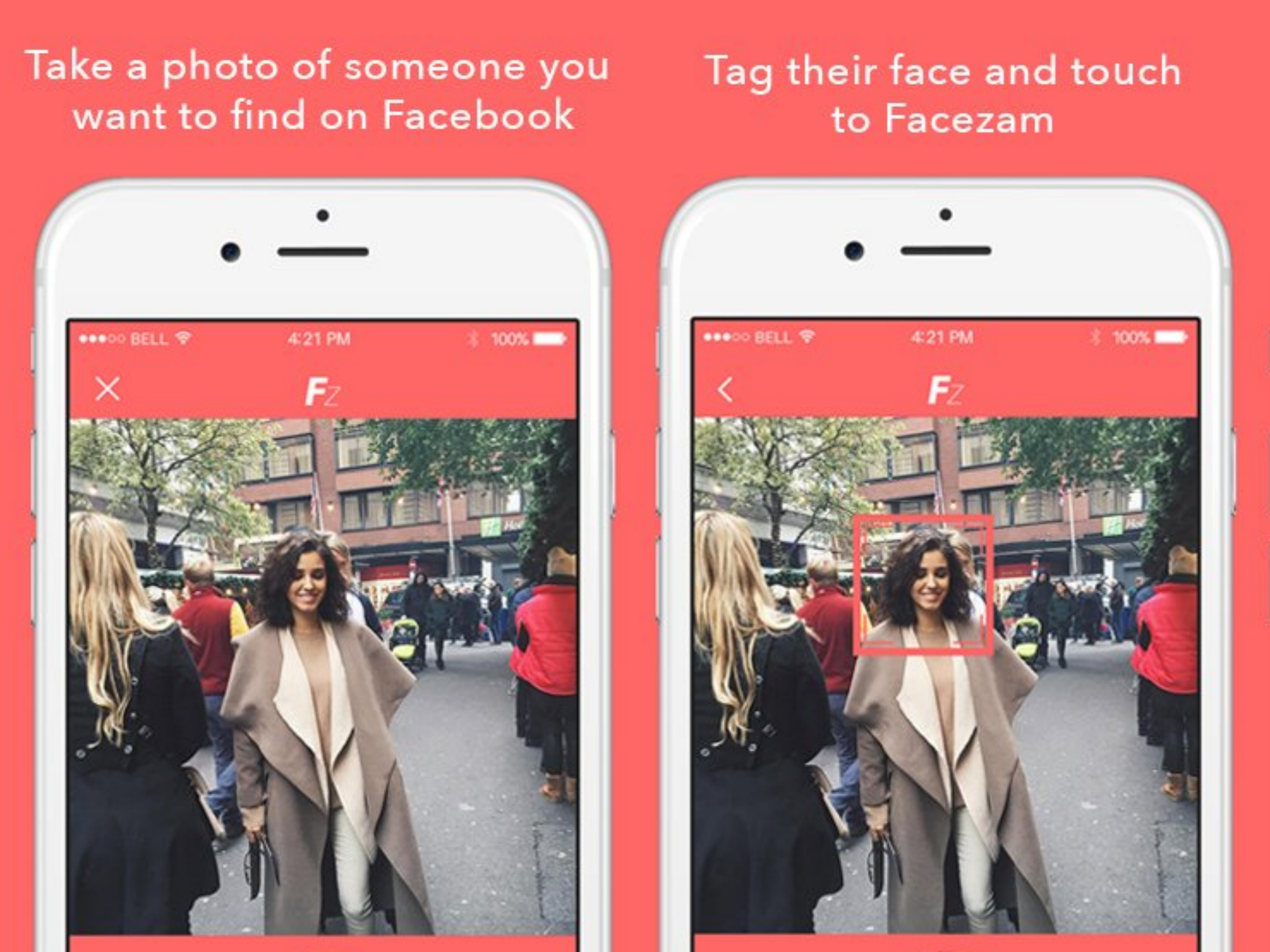 Facezam: Creepy app claiming to match strangers' photos to