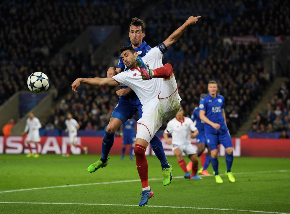 Iborra, shown in action against Leicester, could end up moving to the East Midlands