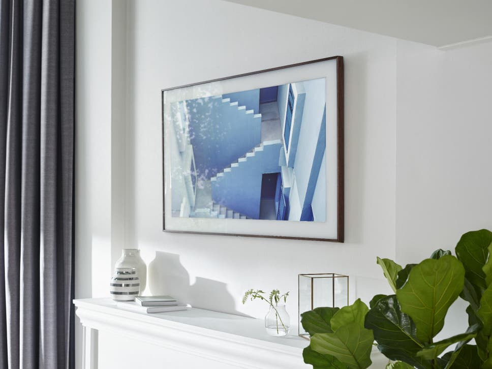 The Frame: Samsung's new 4K TV transforms into wall art | The ... on
