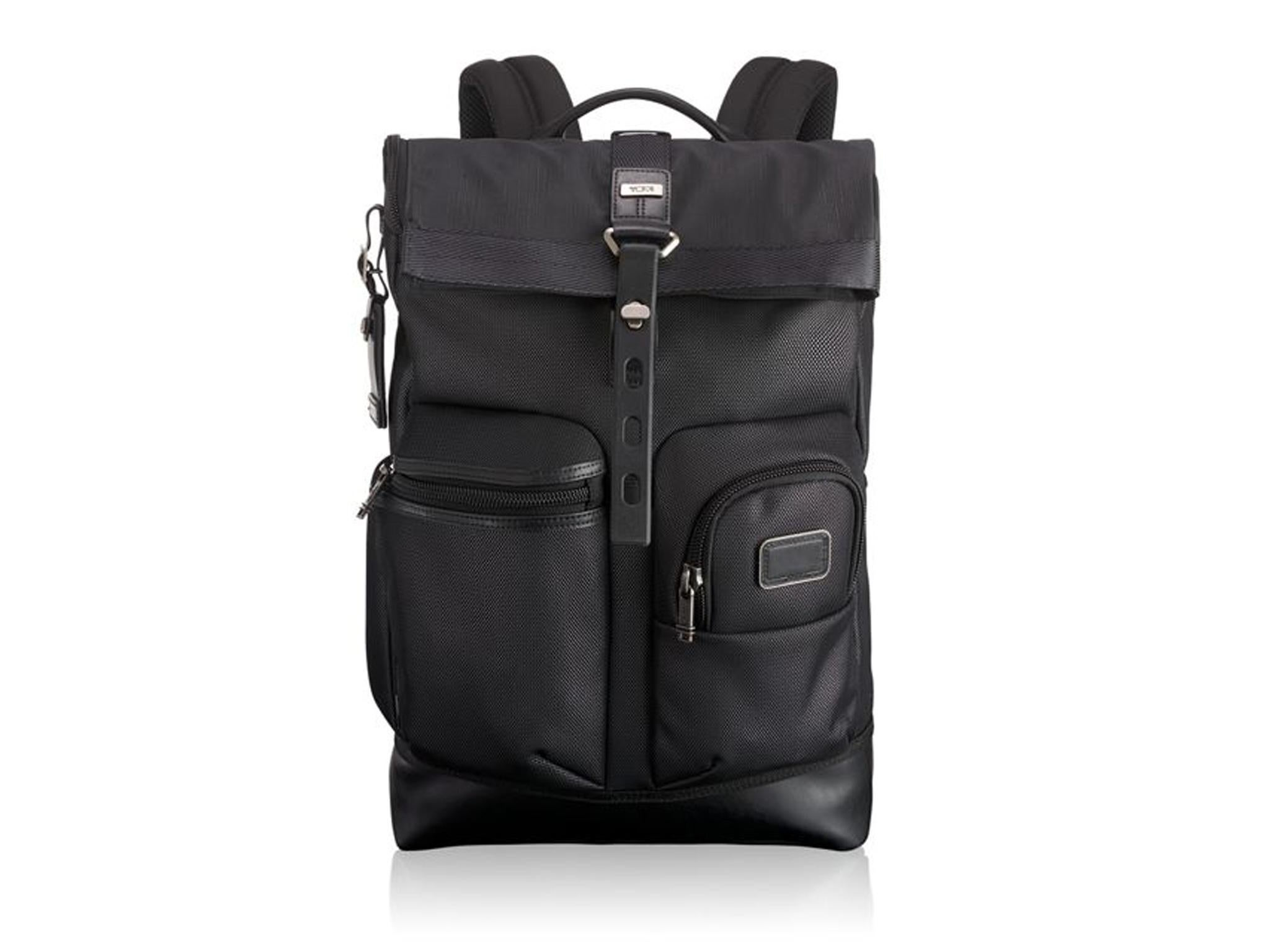 48823887aa5 Tumi Alpha Bravo Luke Roll Backpack  £530, Tumi