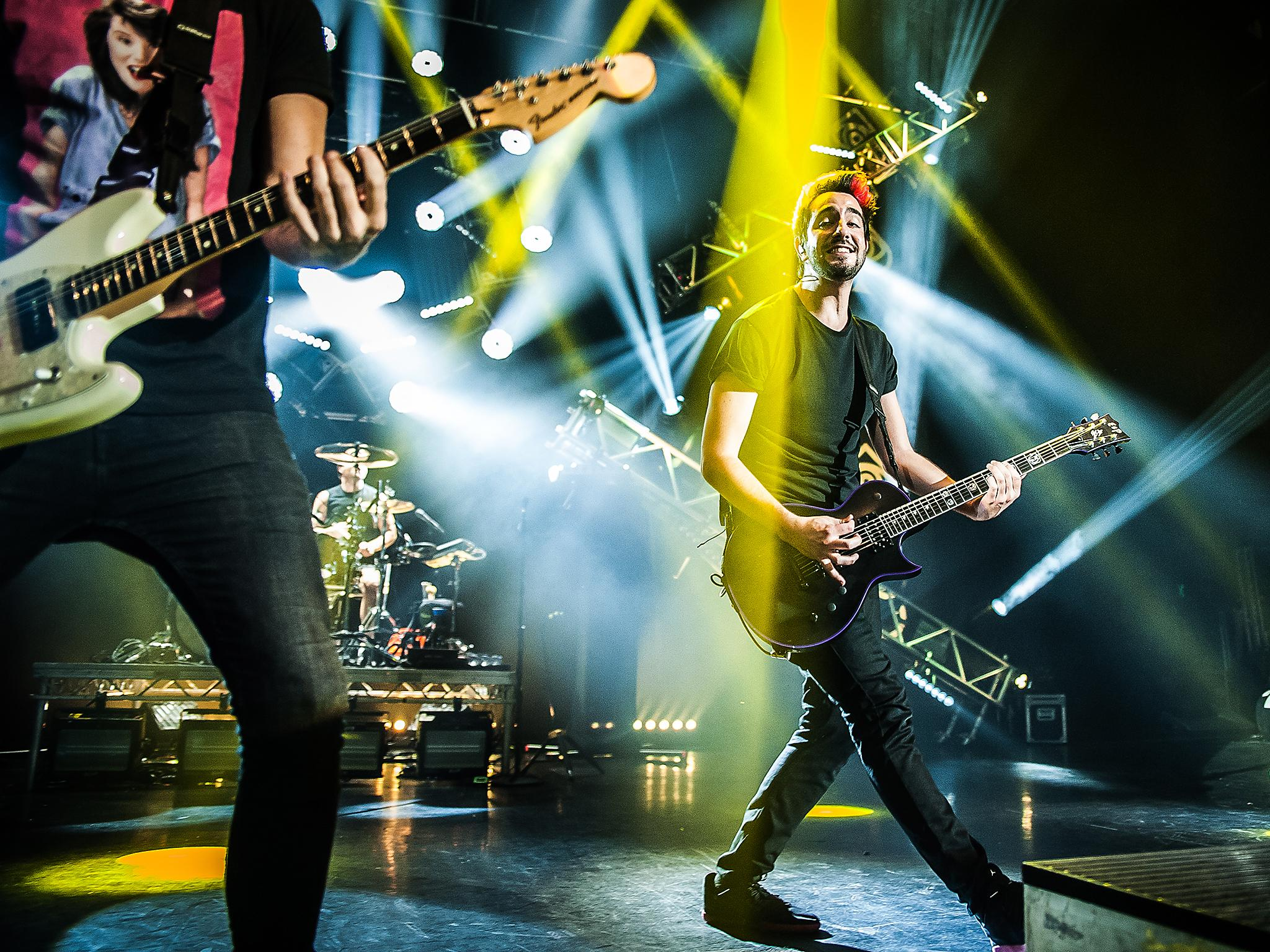 All time low at the eventim apollo london gig review the independent