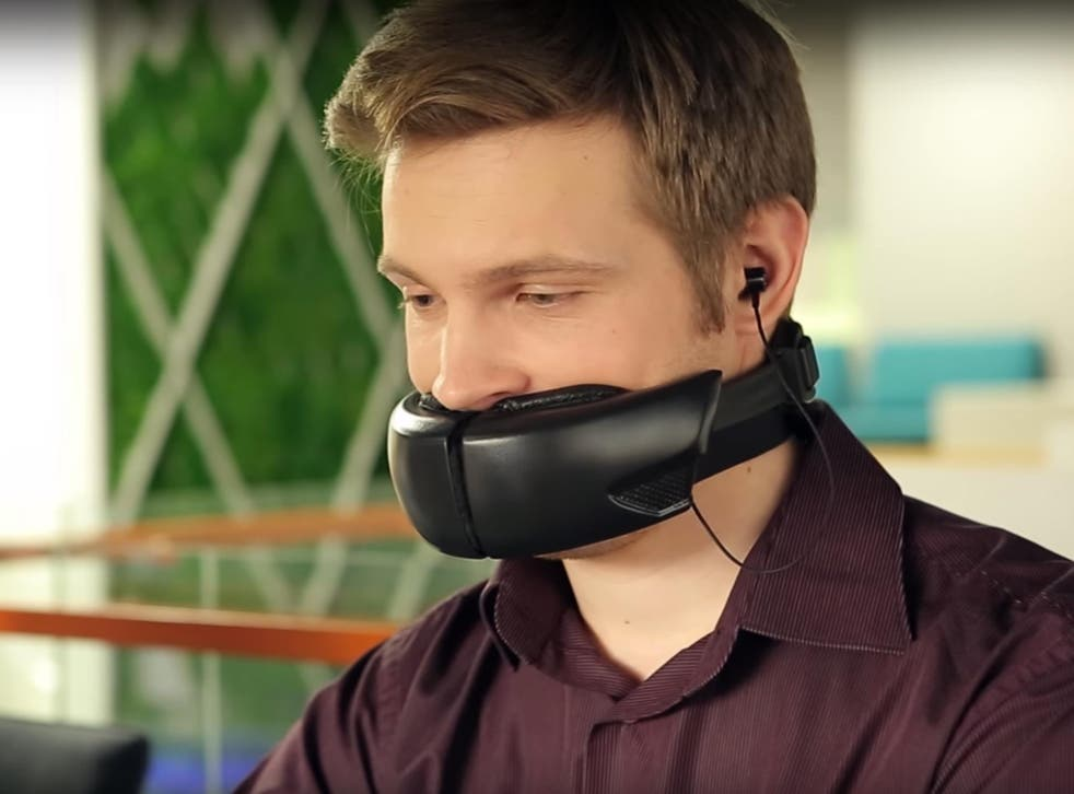The built-in microphone should ensure that the person you're chatting to has no such problems trying to understand you