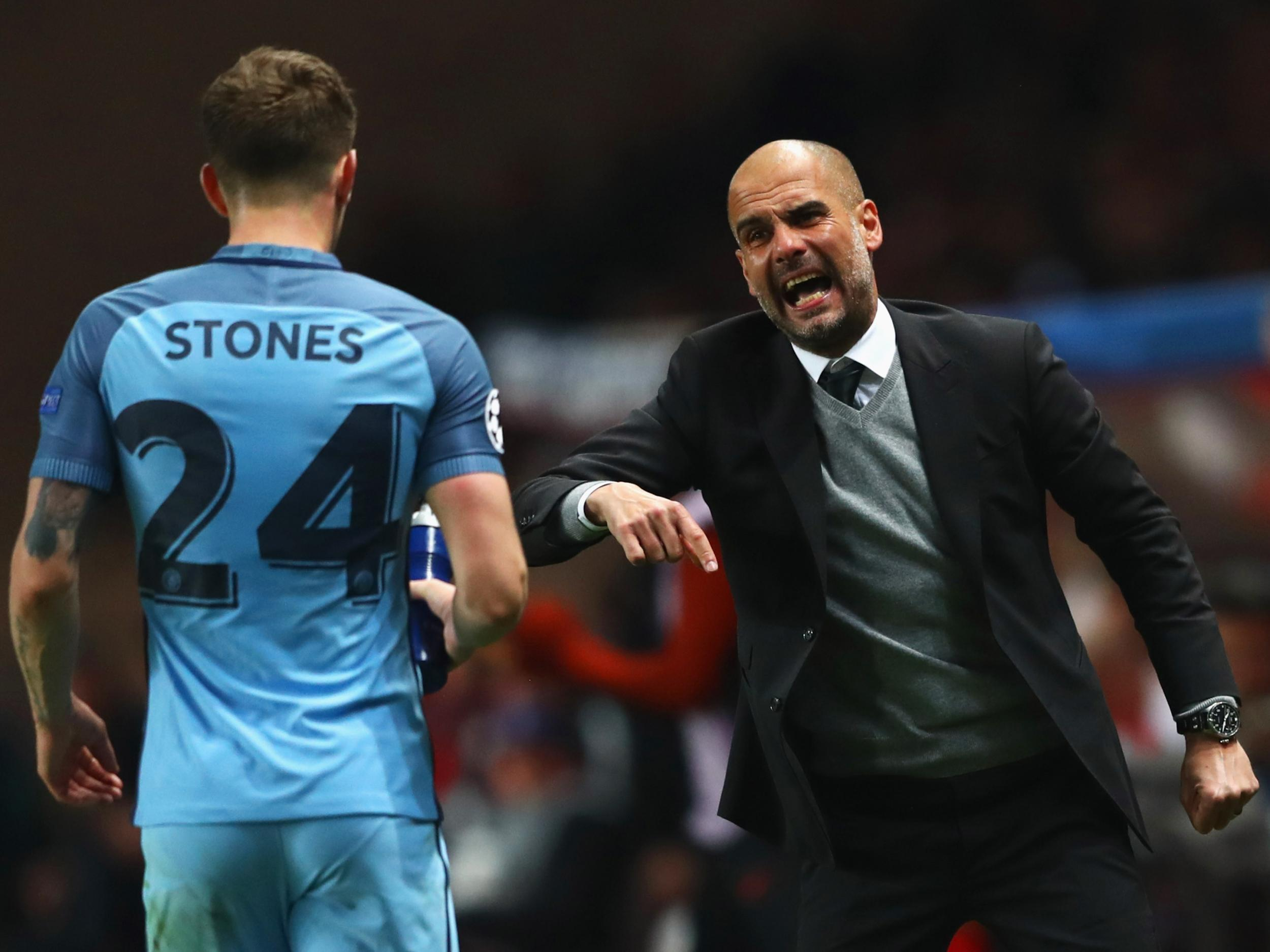 Image result for pep and his players