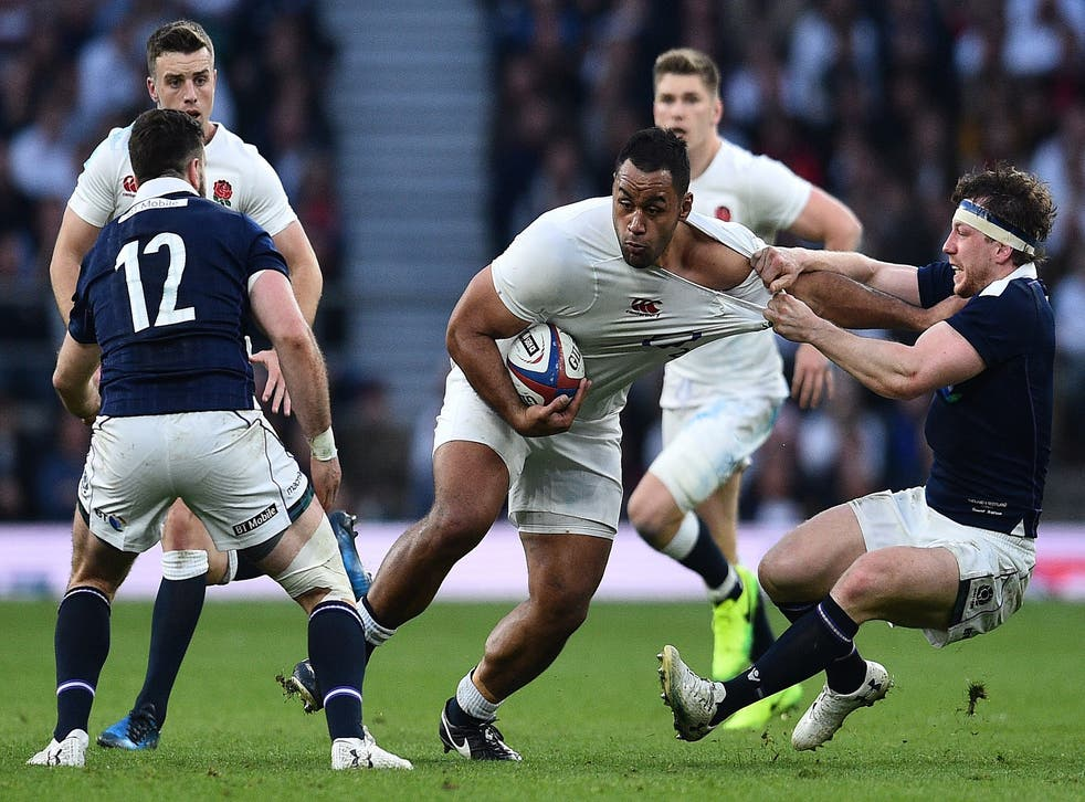 Billy Vunipola returns to the starting line-up to face Ireland