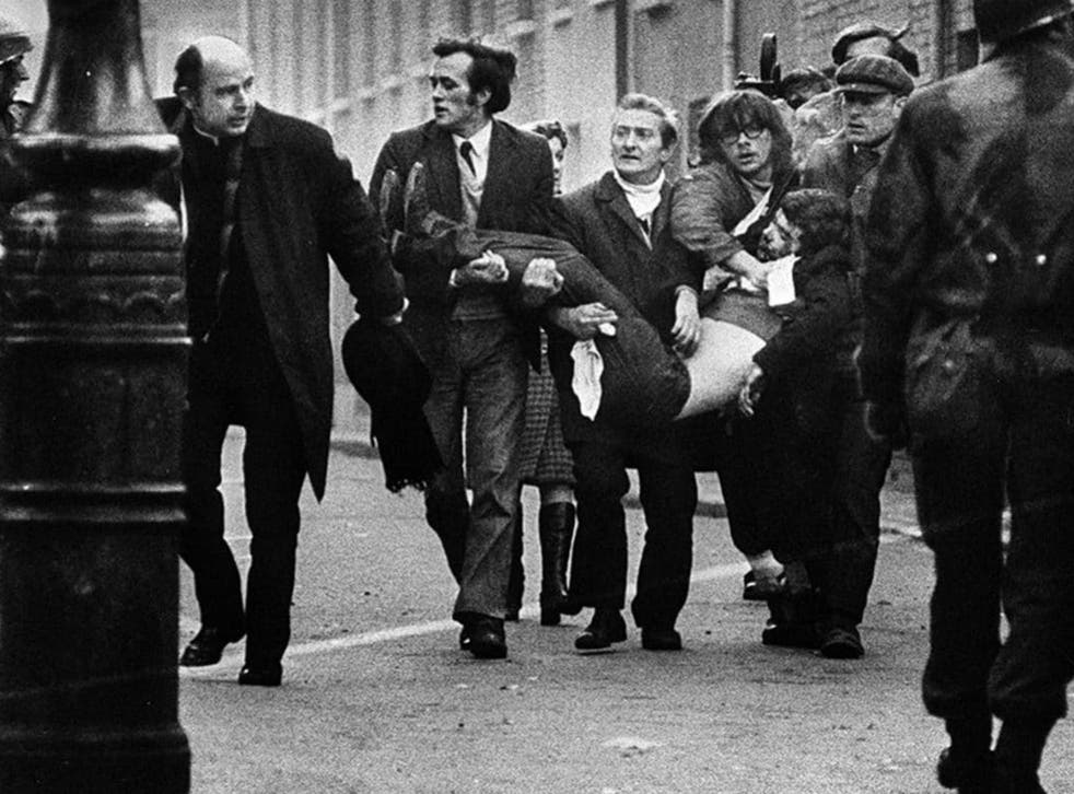 Bloody Sunday: in January 1972, in full view of the public and press, British soldiers shot 26 unarmed civilians during a peaceful demonstration in Derry, Northern Ireland. Fourteen died
