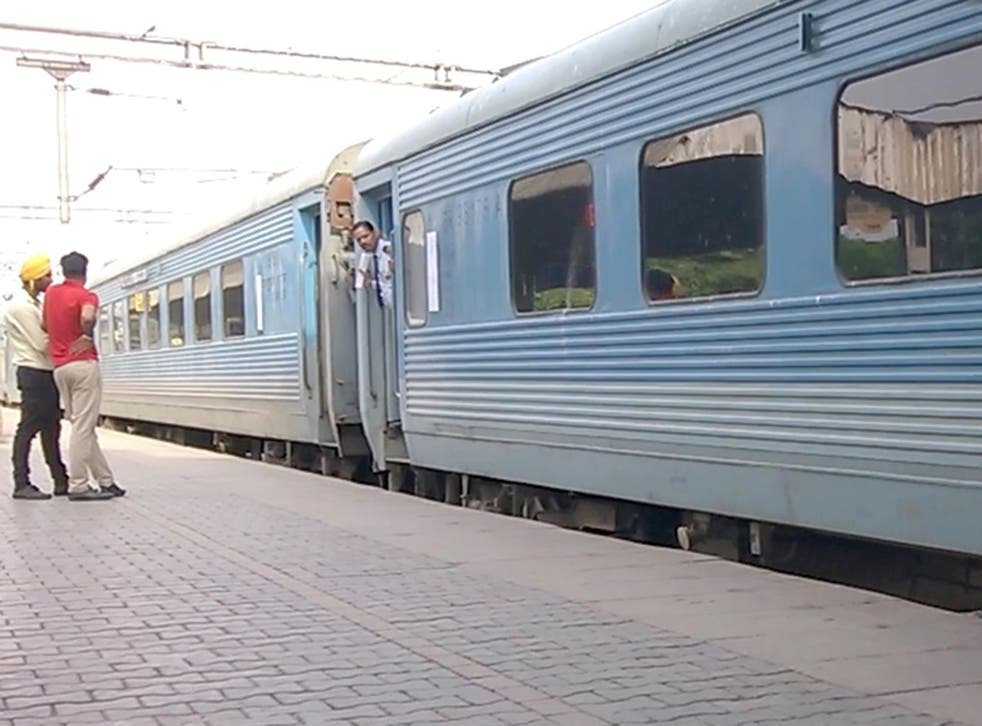 Swarna Shatabdi Express train