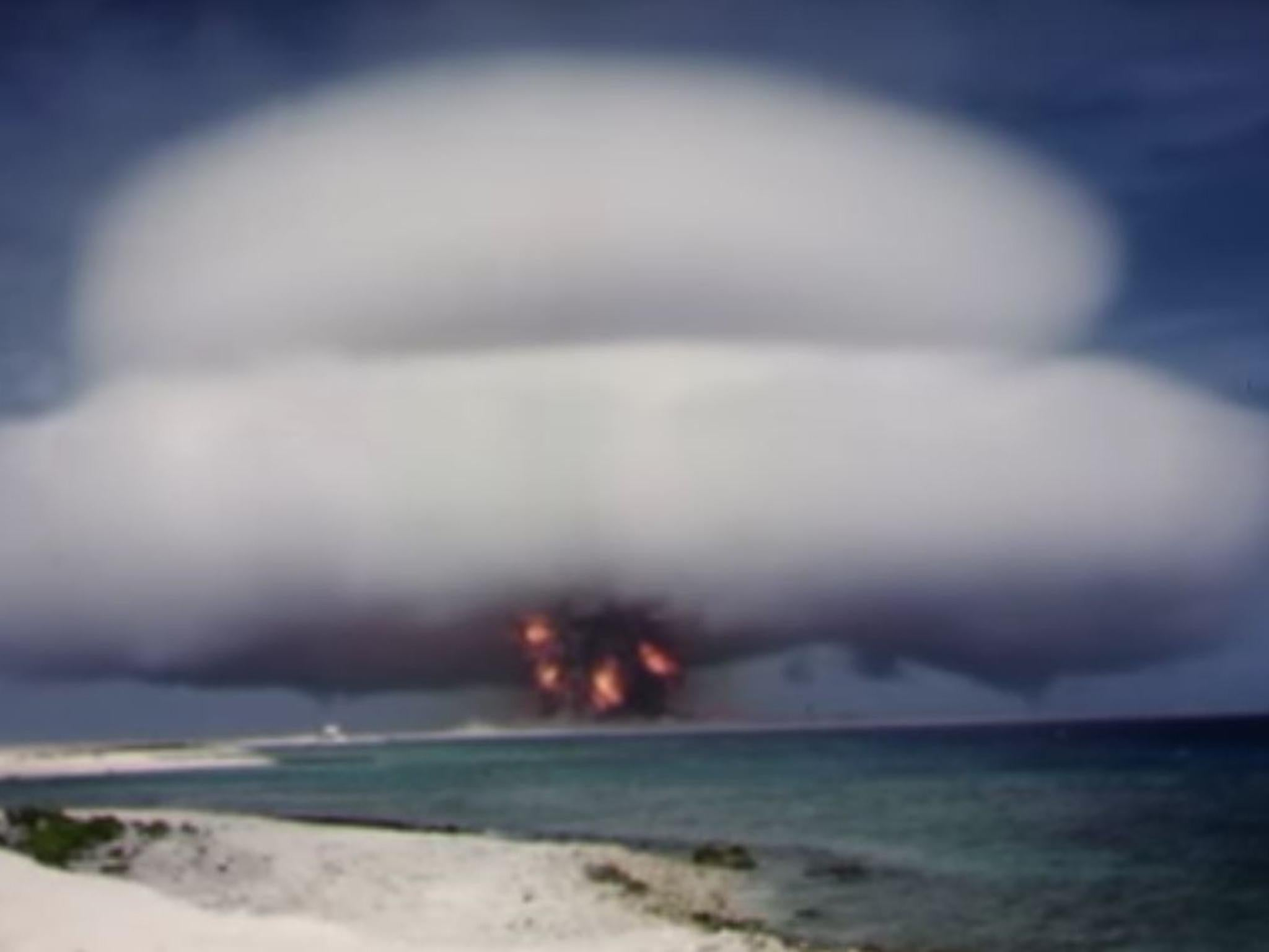 List of nuclear test sites