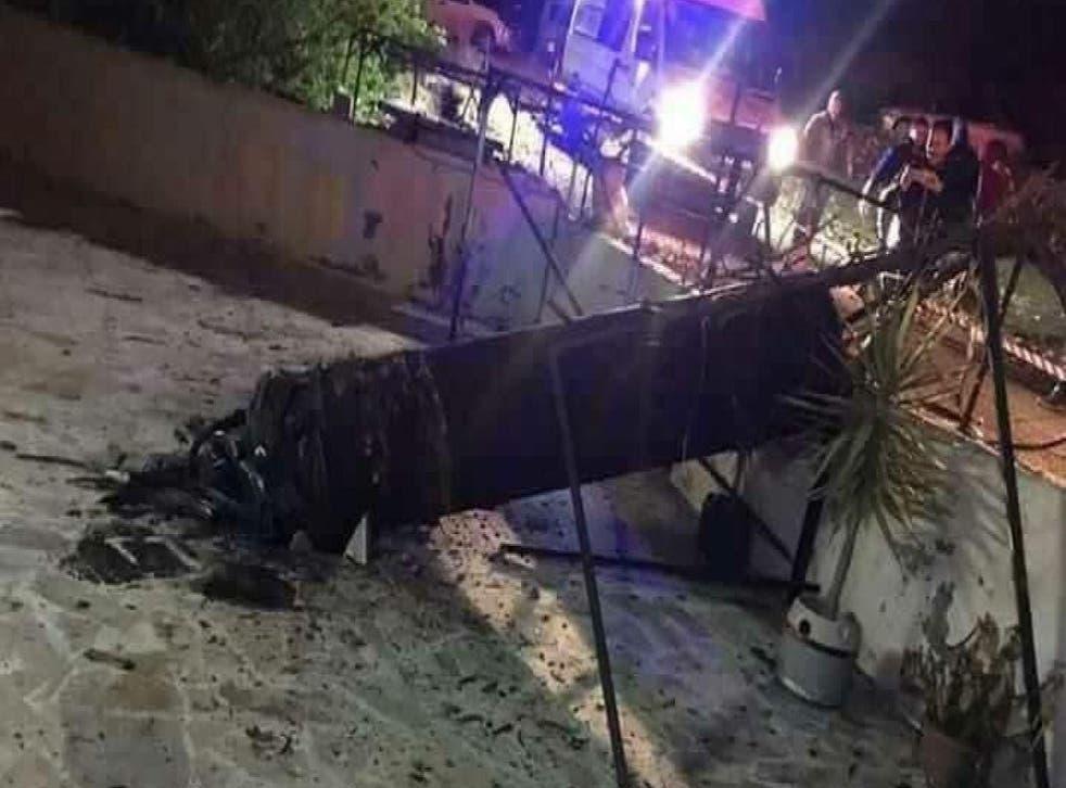 Rocket sirens wailed in Israeli settlements in the Jordan Valley in the early hours