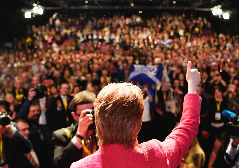 Yellow Wallpaper Essay Nicola Sturgeon Snp Leader Addresses The Partys Spring Conference In  Aberdeen On Saturday Thesis Statement For A Persuasive Essay also Topics For High School Essays A Second Scottish Independence Referendum Is Never Going To Happen  Locavores Synthesis Essay