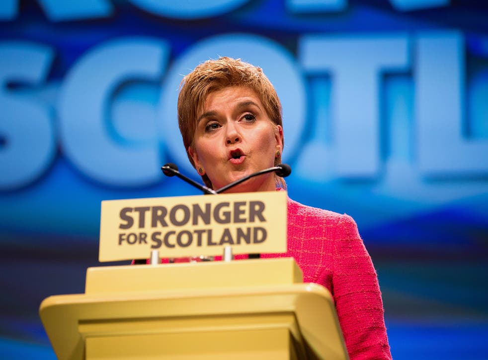 Nicola Sturgeon has called for a second independence referendum