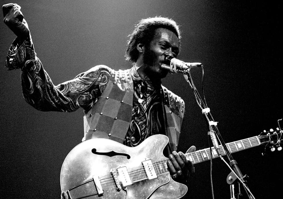 Chuck Berry Me Over Germany