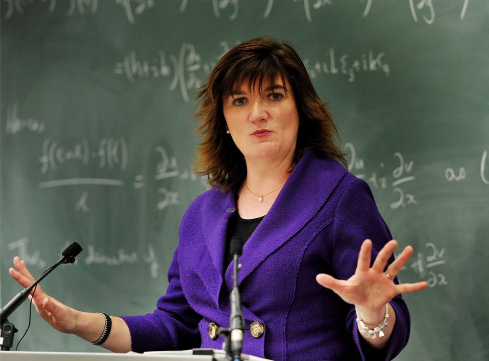 The former education secretary spoke strongly against grammar schools following announcement of plans for their expansion