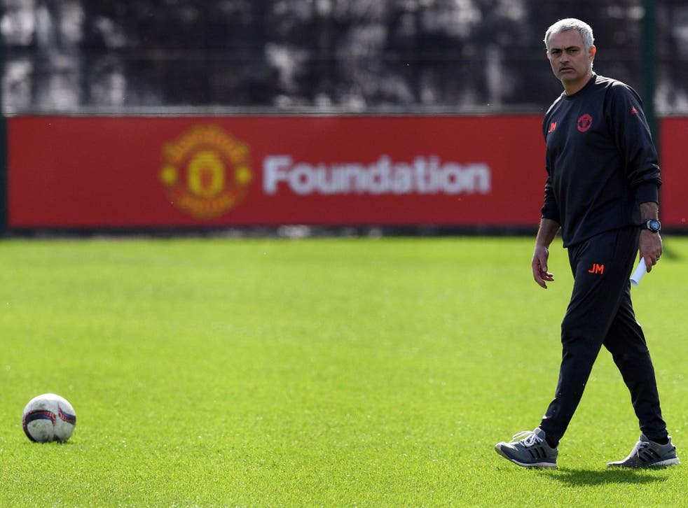Jose Mourinho is enjoying his time at Manchester United