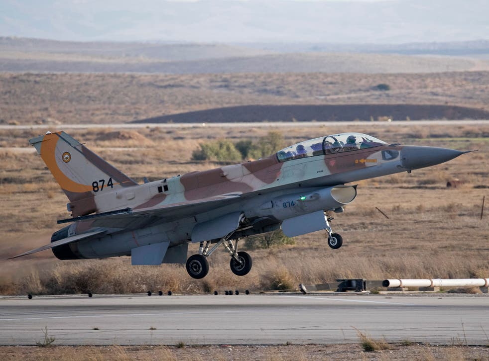 Four Israeli jets struck several targets inside Syria last week and were attacked by three Syrian surface-to-air missiles
