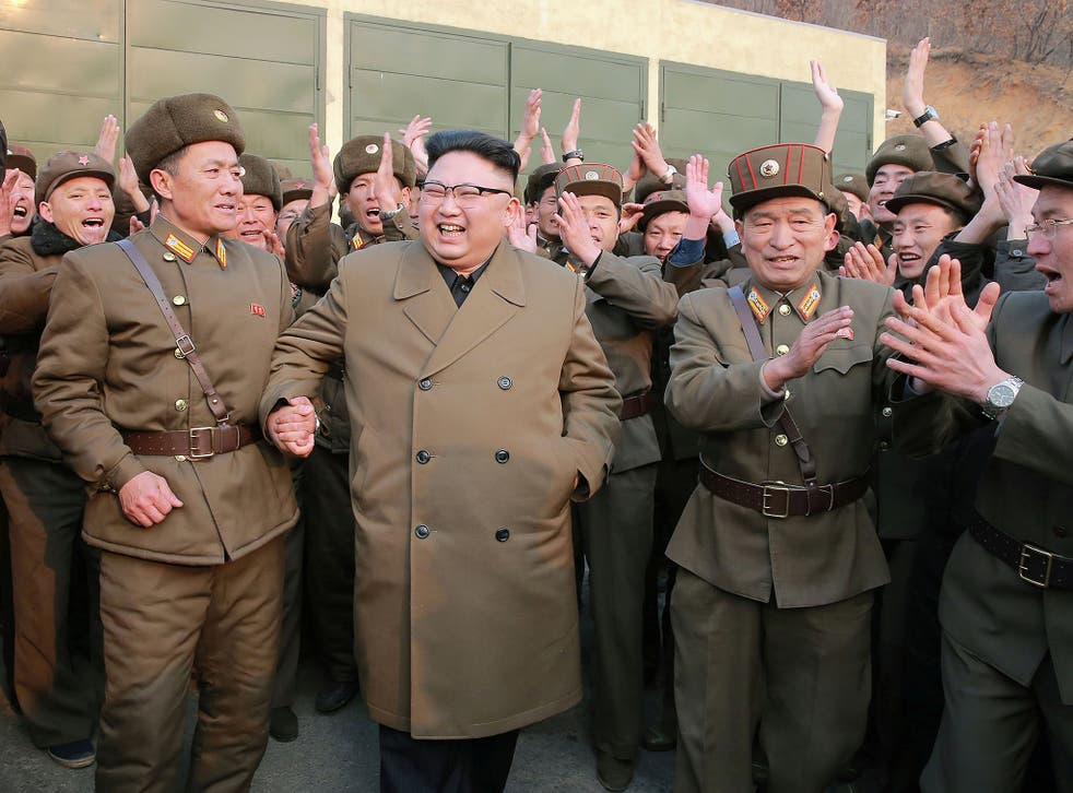 North Korean leader Kim Jong-un was delighted by the results of the test