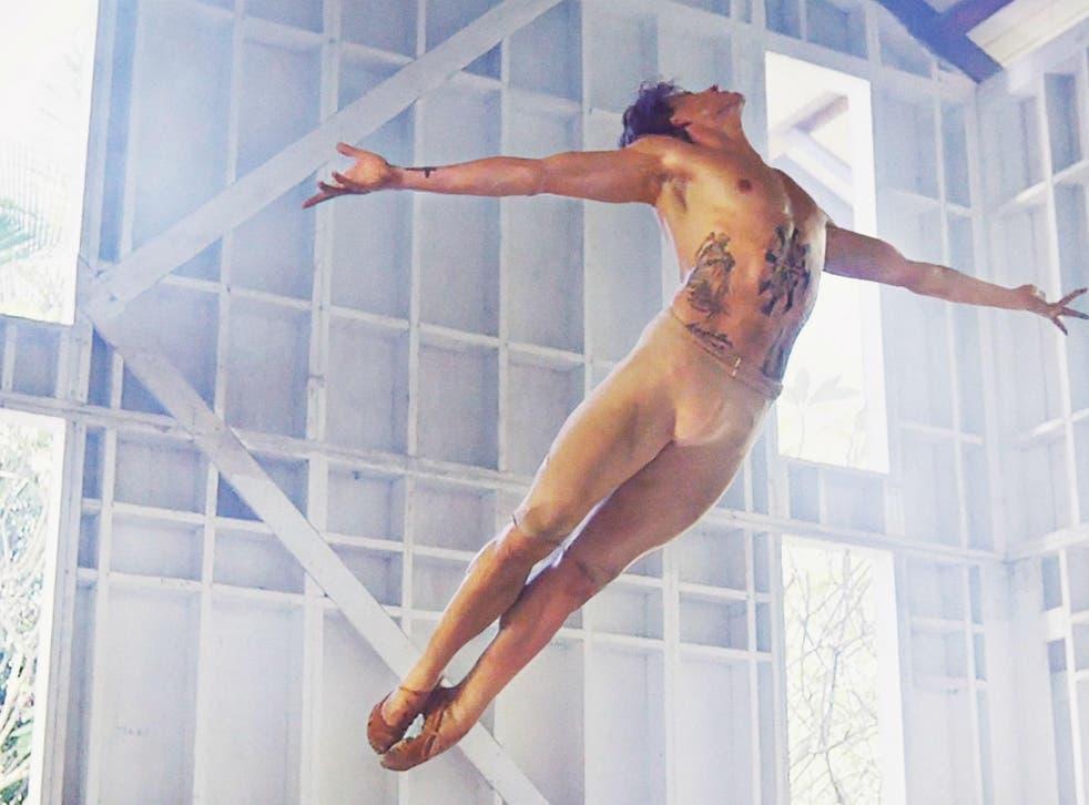 The Russian dancer Sergei Polunin performs new works at Sadler's Wells