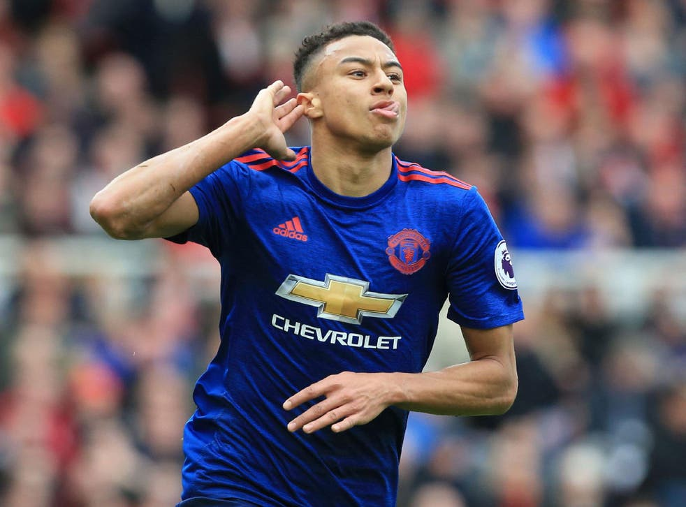 Jesse Lingard struck a fine second-half goal as United cruised to a win