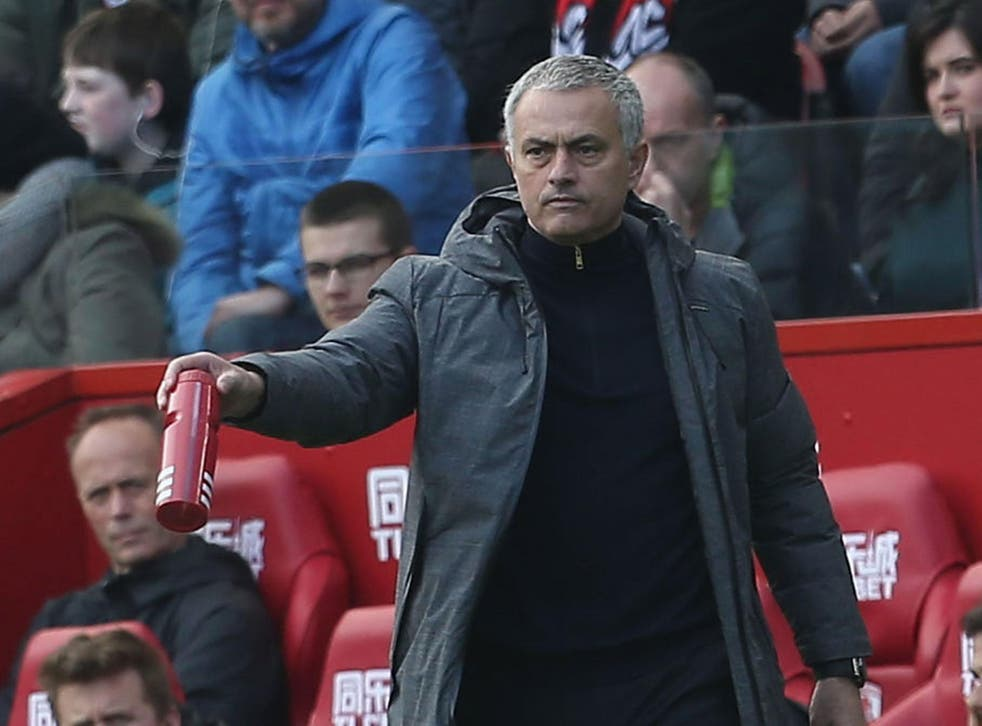Jose Mourinho watched his team eventually overcome Middlesbrough