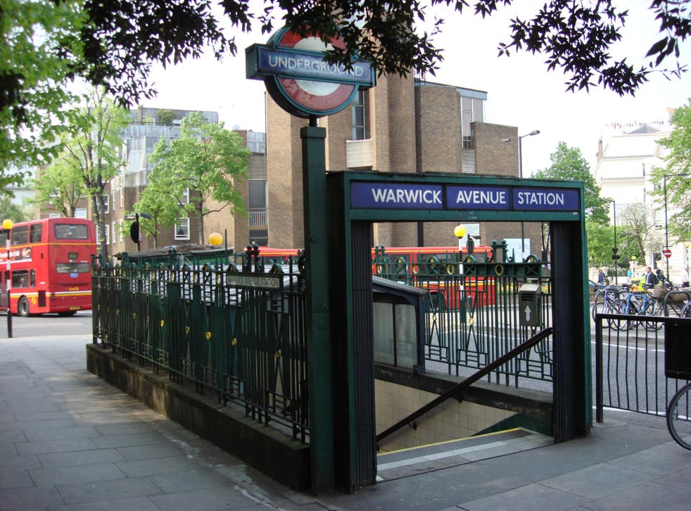 Warwick Avenue tube station, where the assault occured