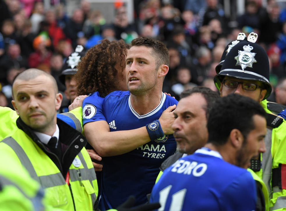 Gary Cahill could not hide his delight with his late headed winner