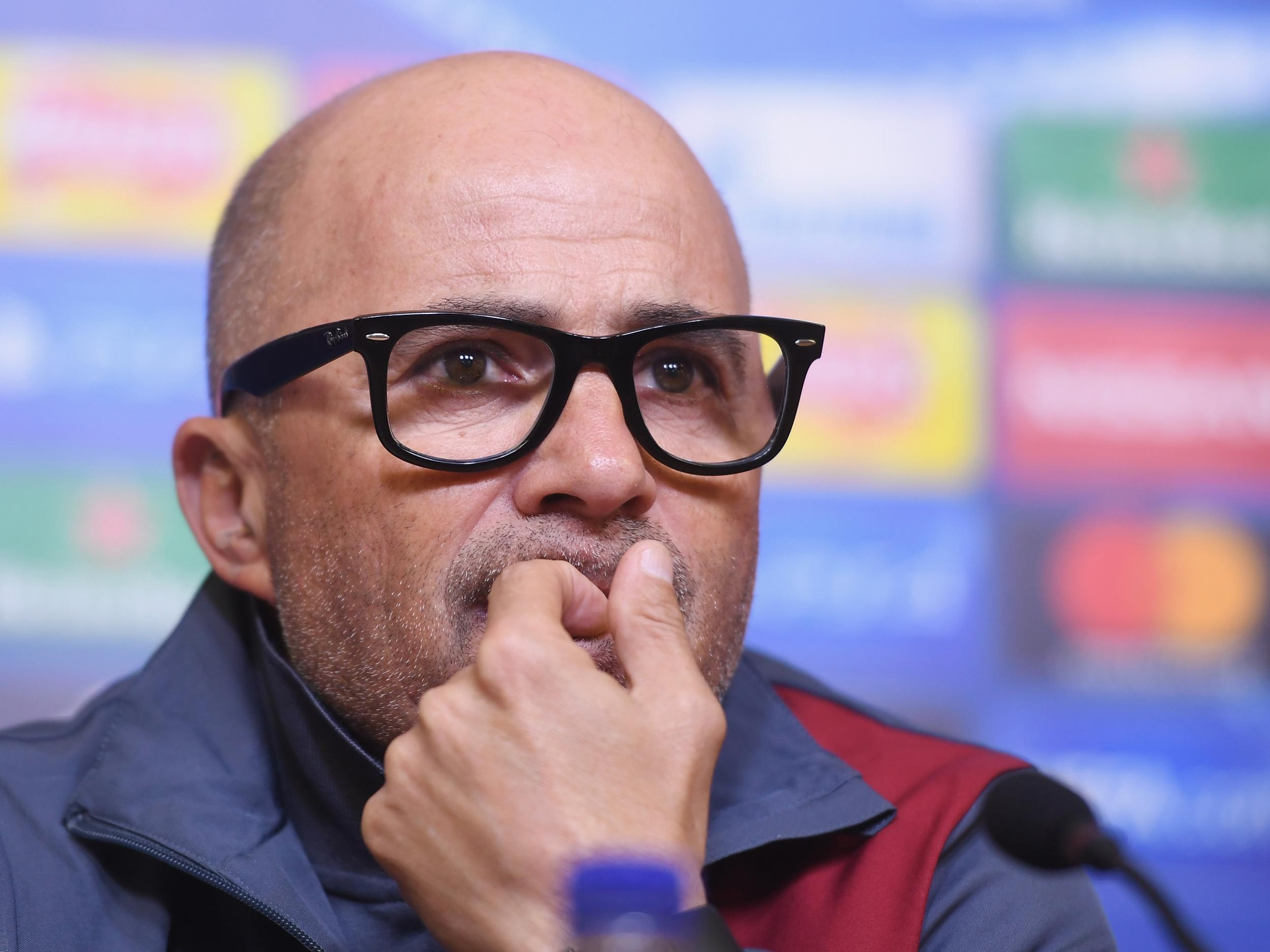 Argentina eye Jorge Sampaoli after sacking coach Edgardo Bauza with World Cup qualifying hanging in the balance