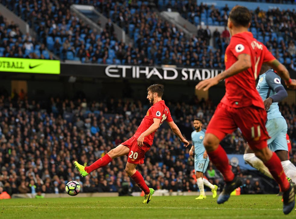 Lallana spurned a fine opportunity to win the game