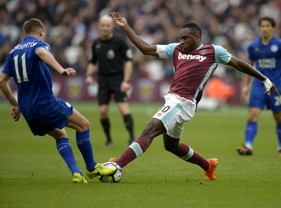 Antonio suffered an injury in the 3-2 defeat to Leicester