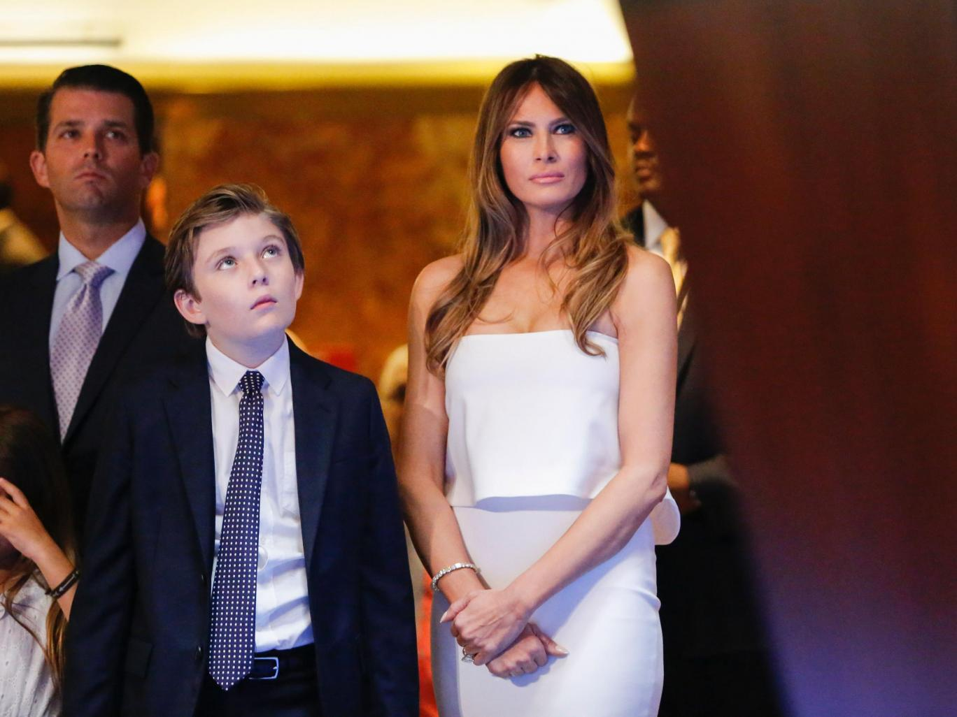 Donald Trump wouldn't have to make $18m education cuts if Melania lived in White House instead of Trump Tower, figures show