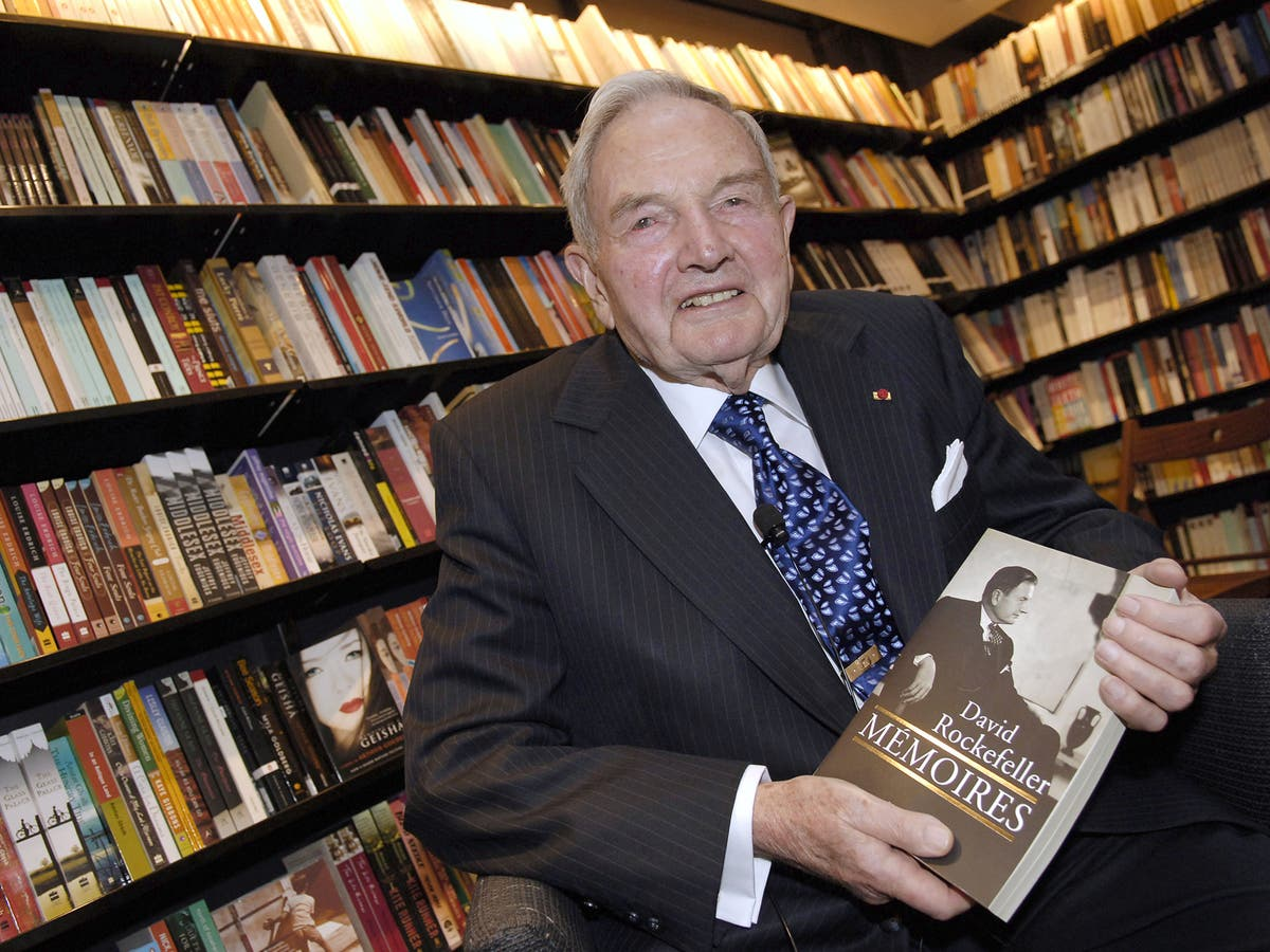 Remembering David Rockefeller: A billionaire banker and philanthropist |  The Independent | The Independent