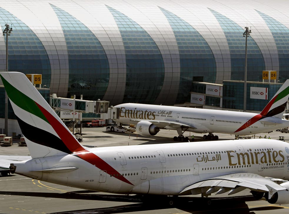 Flights to the US from Saudi Arabia, Jordan, Egypt and the United Arab Emirates are believed to be affected