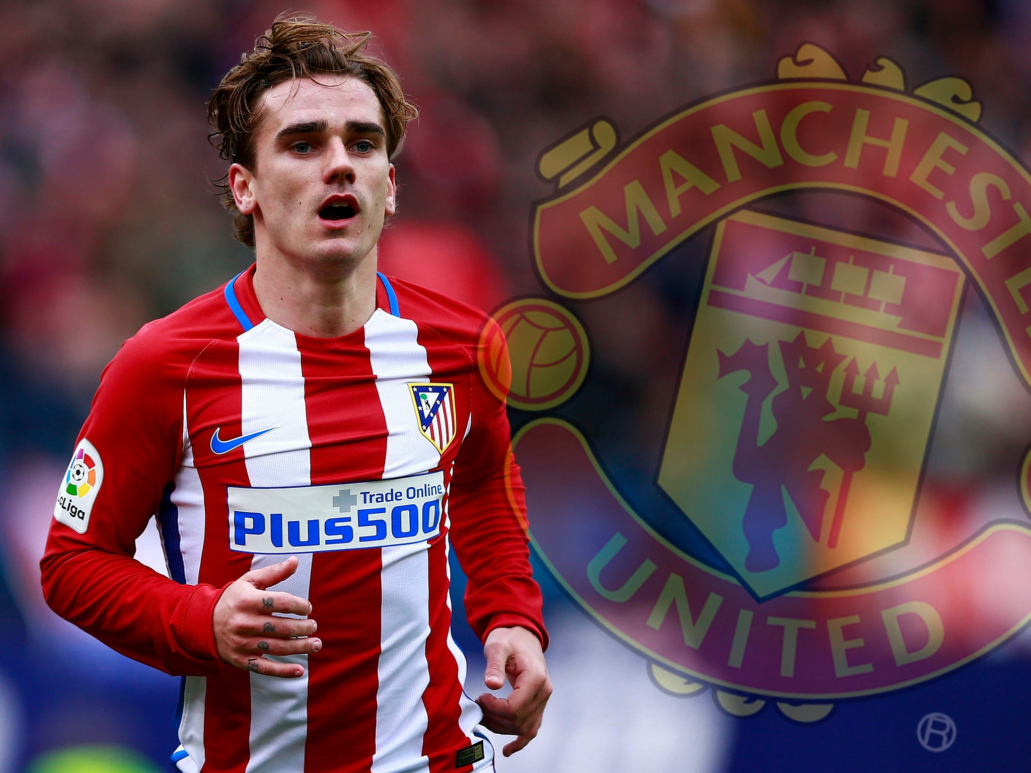 Manchester United target Antoine Griezmann refuses to rule out leaving Atletico Madrid for a 'big club'
