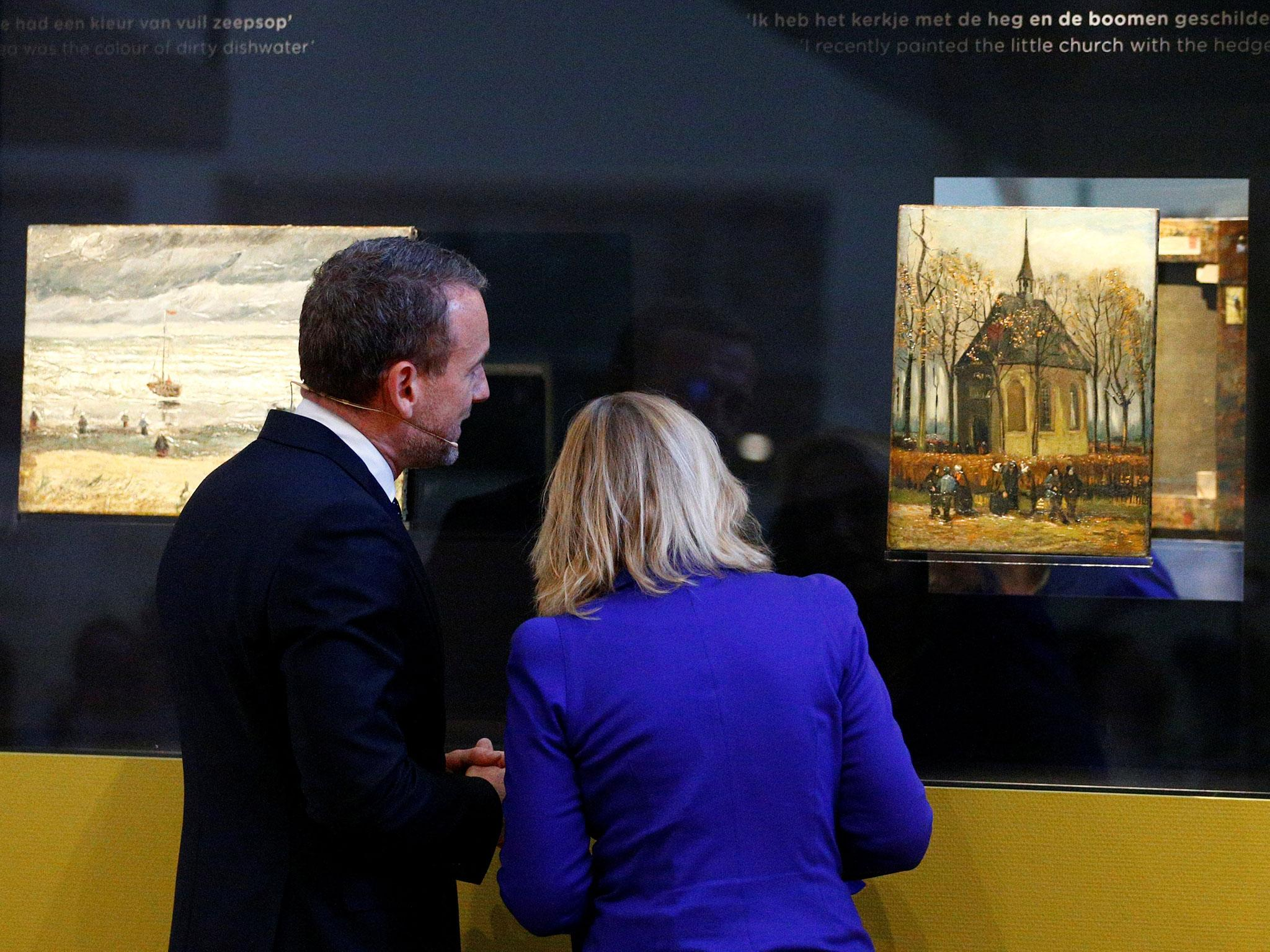 1f65d68629 Van Gogh paintings worth millions back on display 14 years after museum  heist