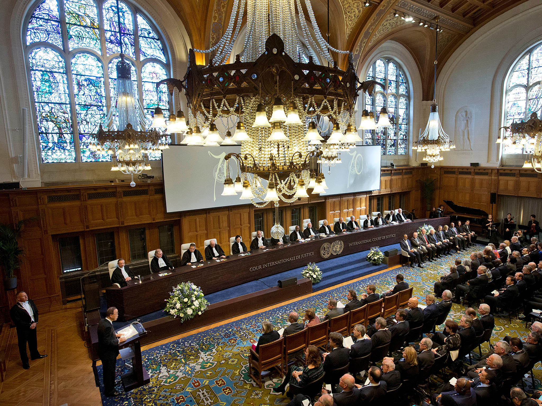 international court of justice Template heading question one article 38 of the statute of the international court of justice (sicj) provides three main sources of international law the first .