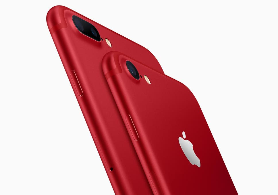 Apple releases iPhone 7 in new, red colour alongside update